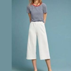 Anthropologie Saturday Sunday Muse Wide Leg Terry